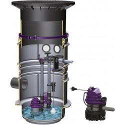 Poste de relevage Aqualift S (Eaux claires) - 1 pompe