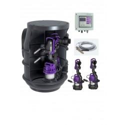 Aqualift F Basic vortex 2 pompes + coffret de commande
