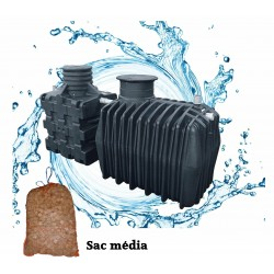 Filtre compact COMPACT'O® 4 ST - Filtre compact + Fosse toutes eaux 3 m3