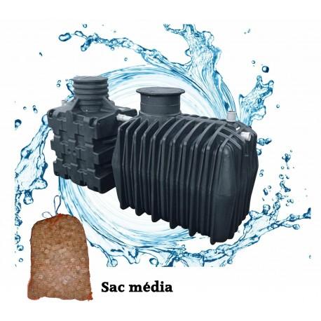 Filtre compact COMPACT'O® 4 ST - Filtre compact + Fosse toutes eaux 3.3 m3