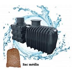 Filtre compact COMPACT'O® 6ST + Fosse toutes eaux de 3 m3