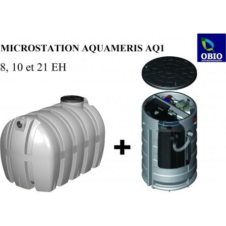 AQUAMERIS AQ1 8 EH - 6830L - Microstation d'épuration