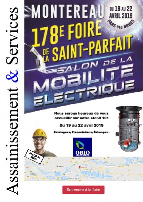 Présence à la Foire de Montereau 2019